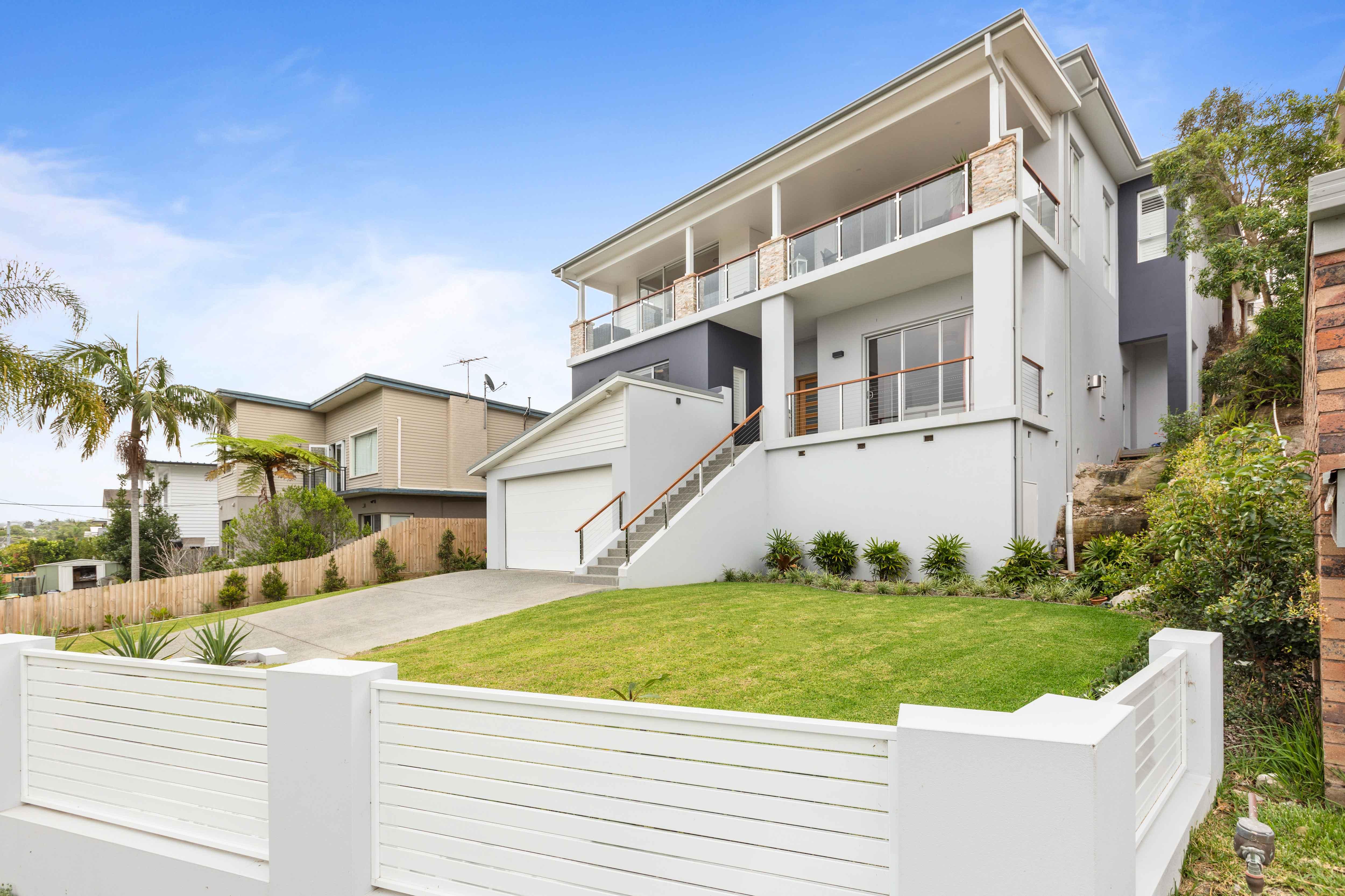 Custom designed home at North Curl Curl