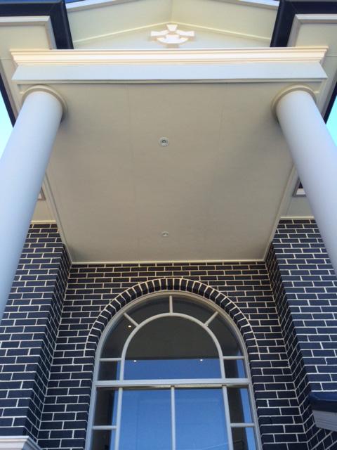 Arch Hi Lite Portico entry