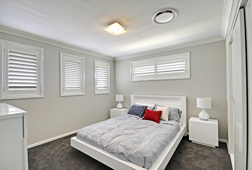 Display Home San souci Woongarrah Plantation shutters