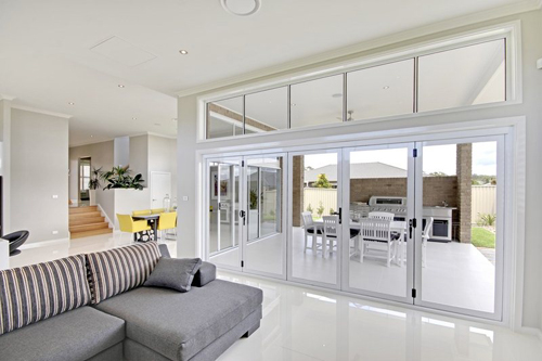 Display Home San souci Woongarrah Living area Hi lite windows