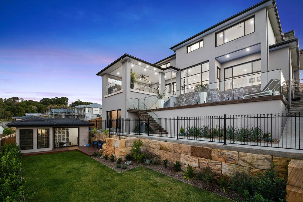 Custom Home Design Terrigal Outdoor Living