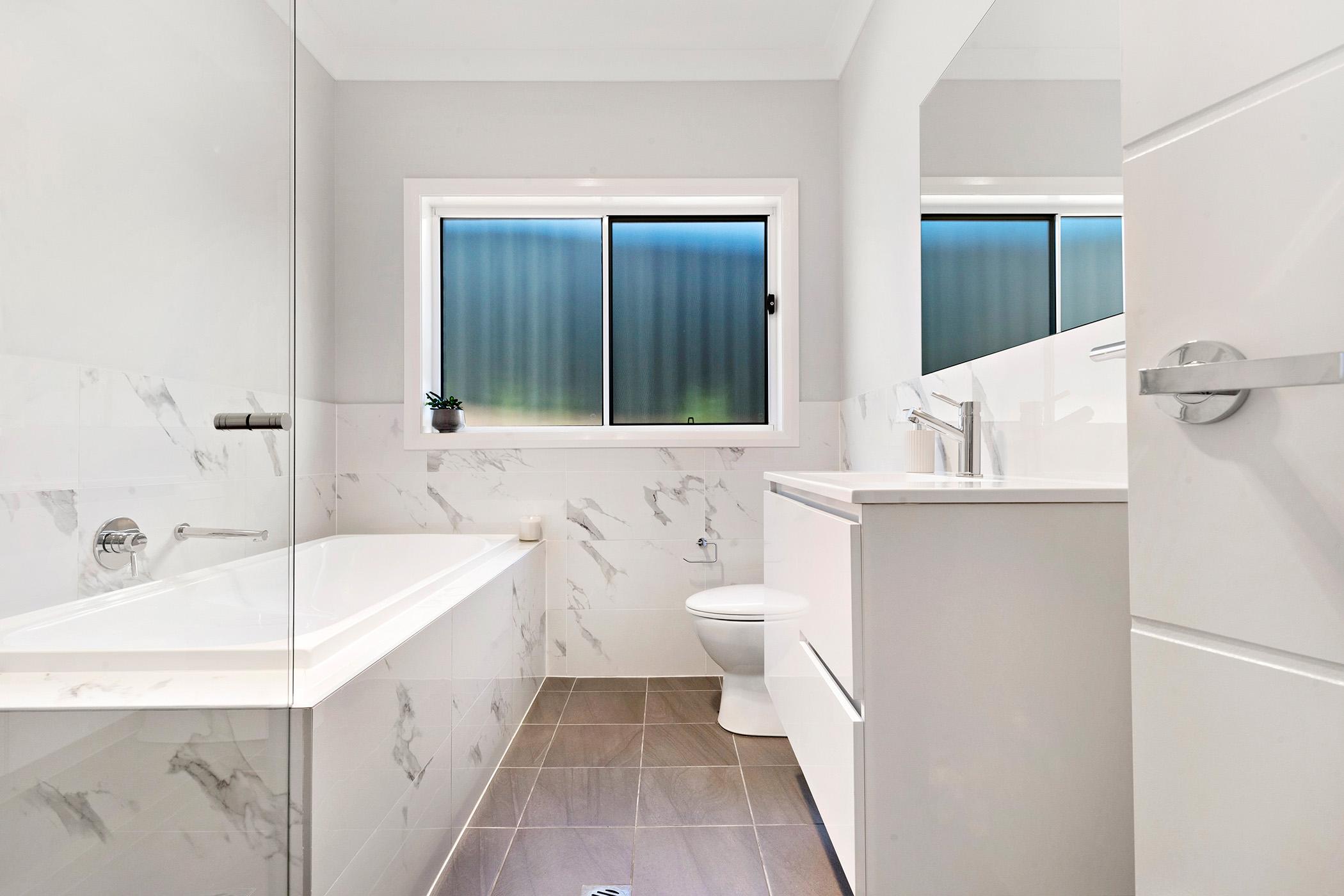 Bathroom in Cameron Park home