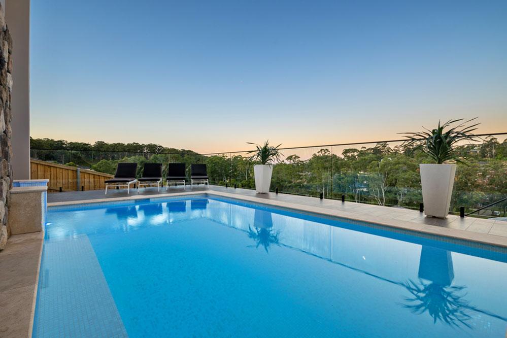 Custom Home Design Terrigal Pool Terrace