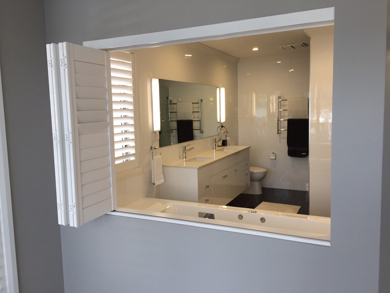 Ensuite feature opening
