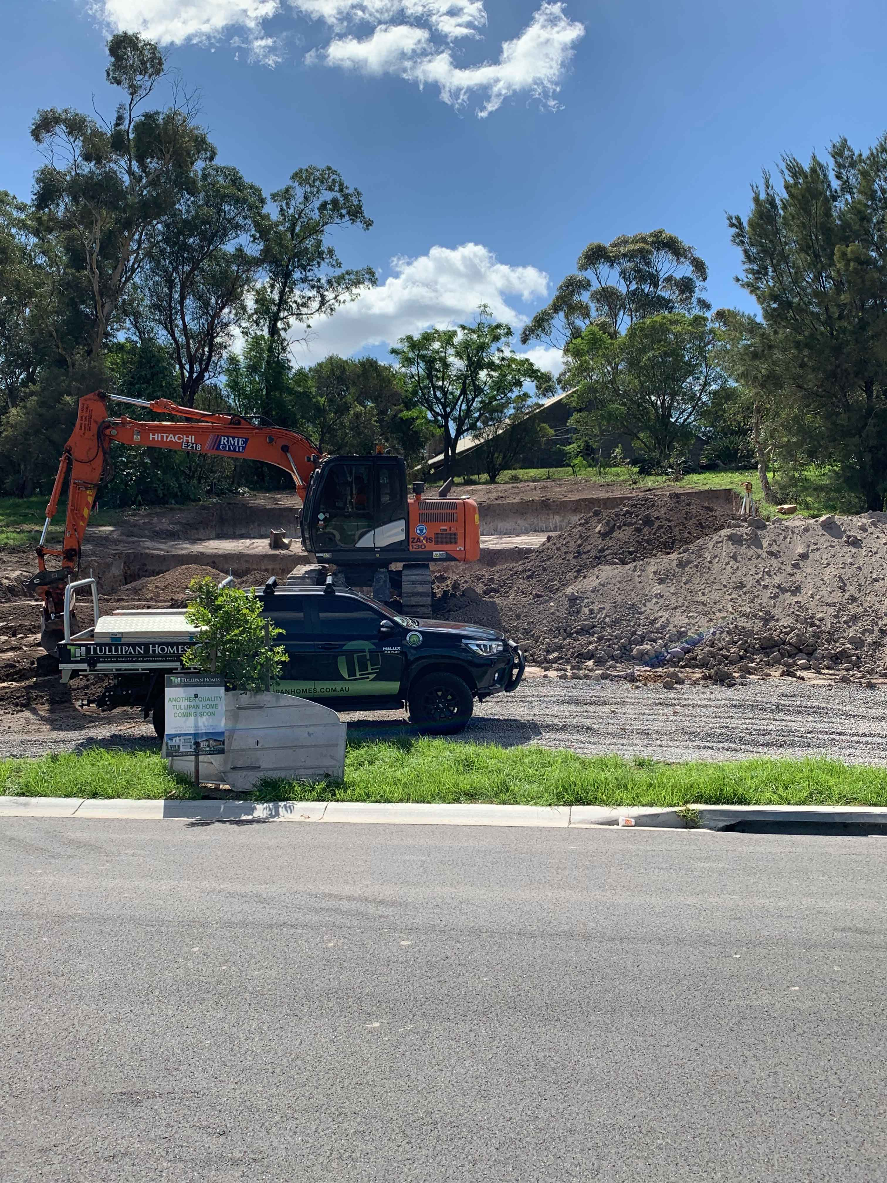 Excavation with RME Civil in Maitland