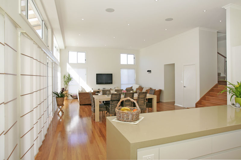 Sorrento - Split Level Home Design - Downslope design with High Ceilings - Built at Terrigal.