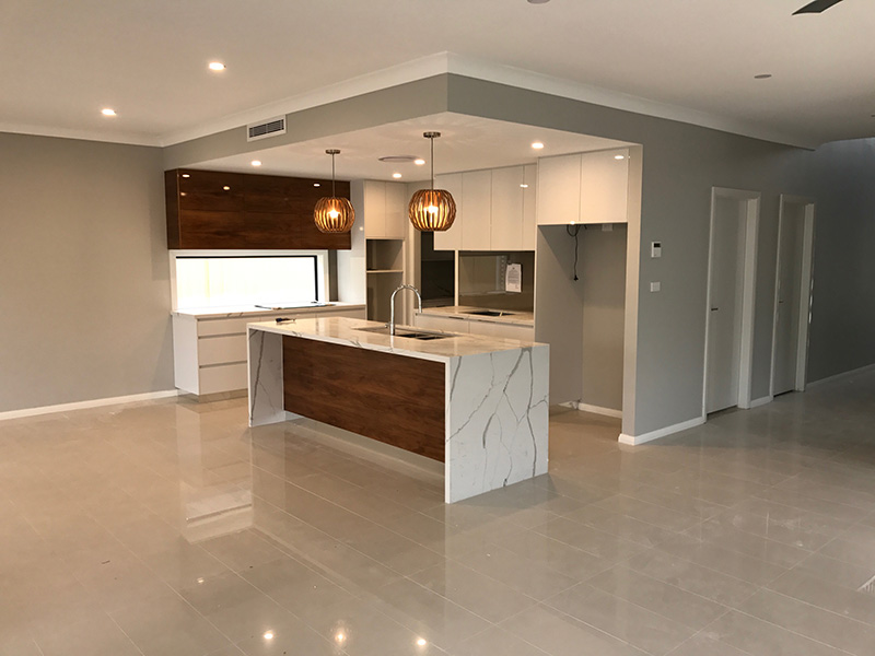 Shelly Beach custom home Kitchen