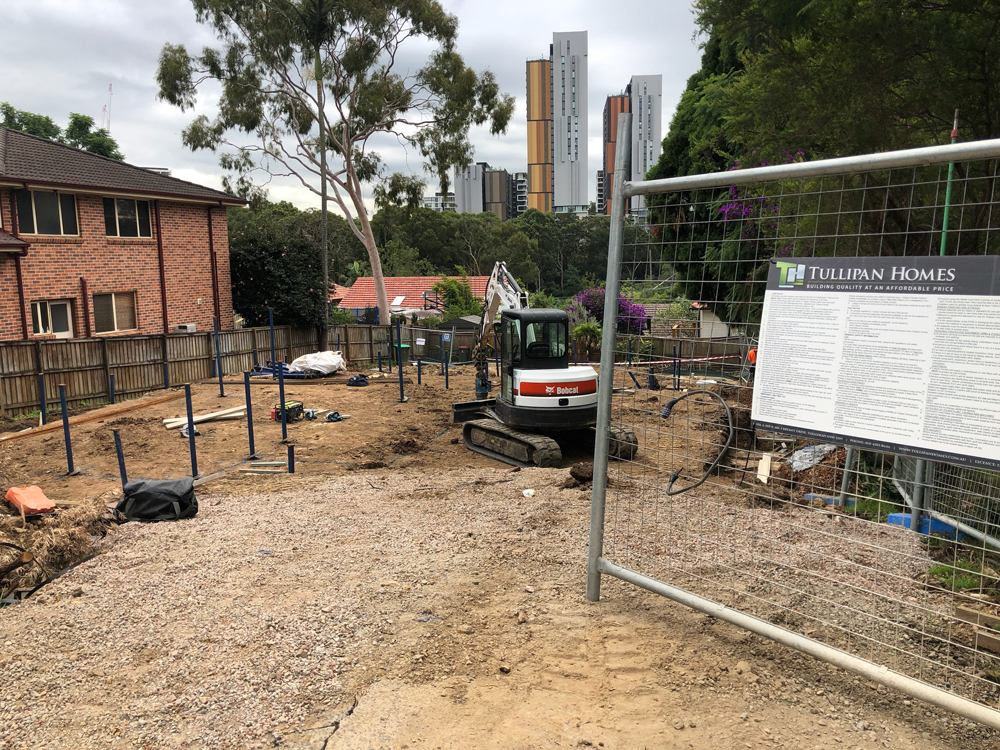 Metal screw piles North Ryde