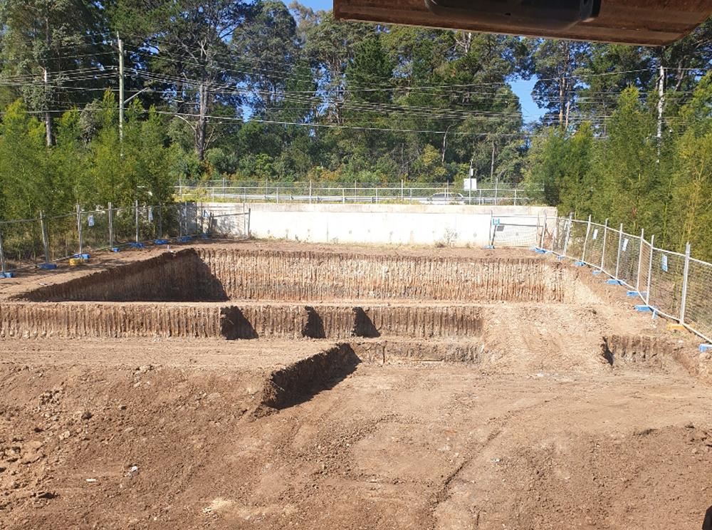 Excavation Split Level Castle Hill