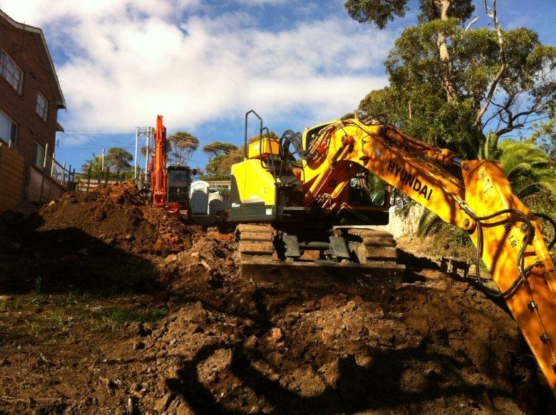 Excavation Collaroy Sydney