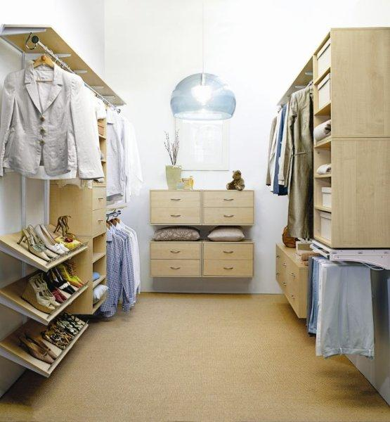 Walk in wardrobe custom fit outs by Wardrobe world