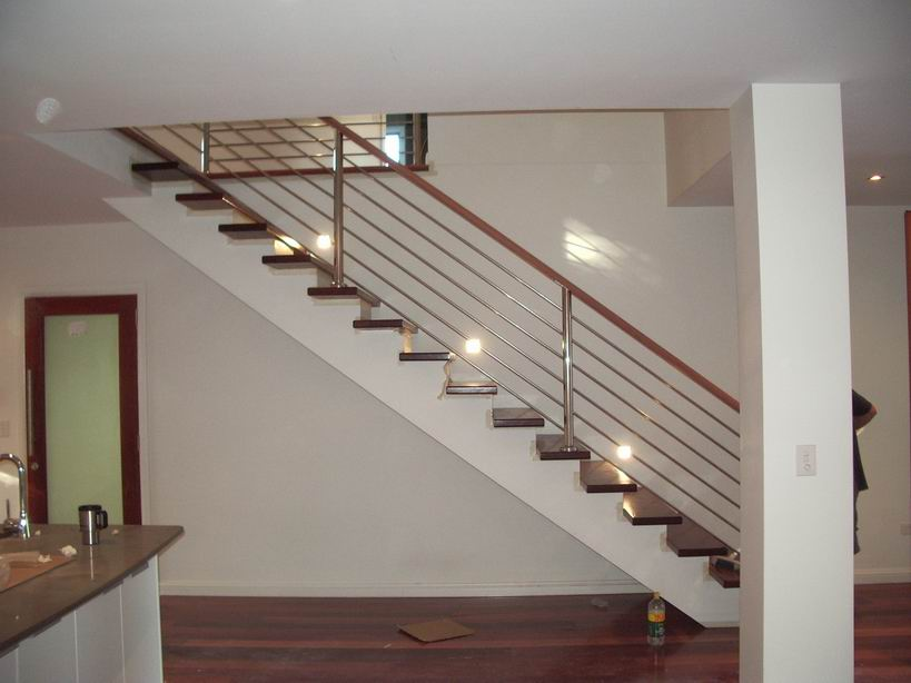 Mika style Stainless steel stair railings