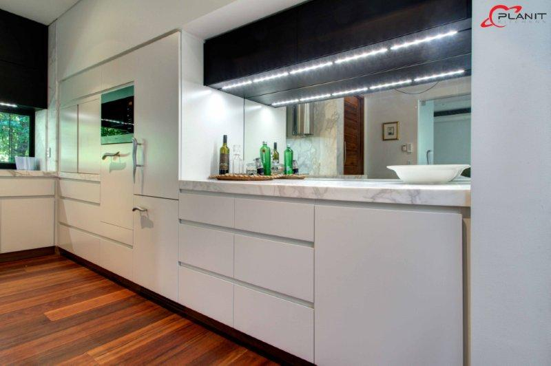 Galley style Kitchens by Planit Kitchens 1