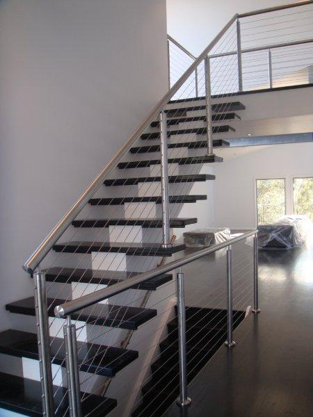 Custom staircase by Central Coast Stairs