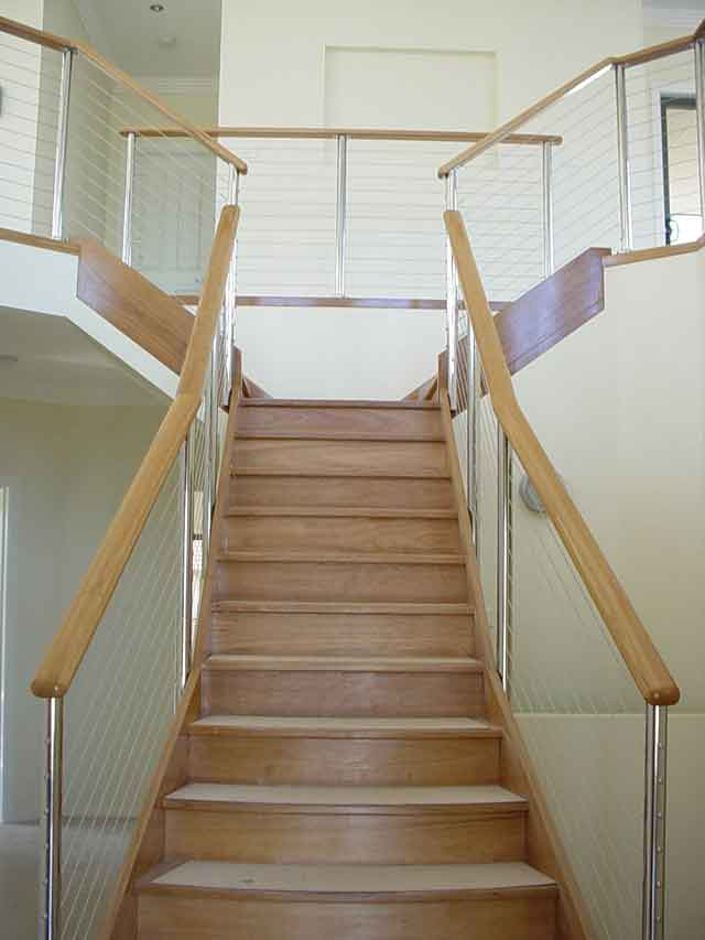 Timber Staircase introduced to our Vegas Design