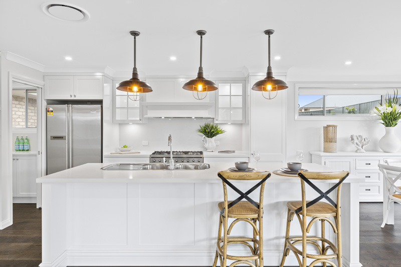 Hamptons Display Home Kitchen