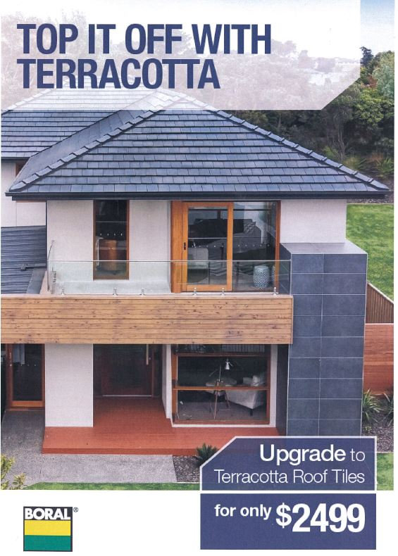 Boral Terracotta Roof Tile Promotion Tullipan Homes