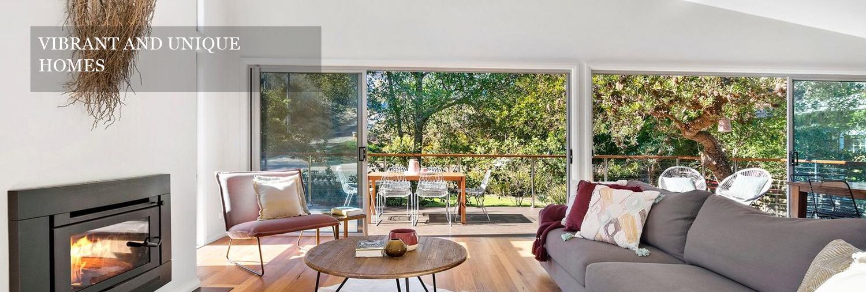 Vibrant and unique homes