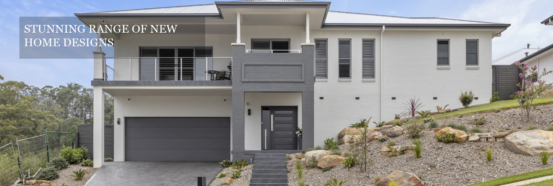 Stunning range of new home designs