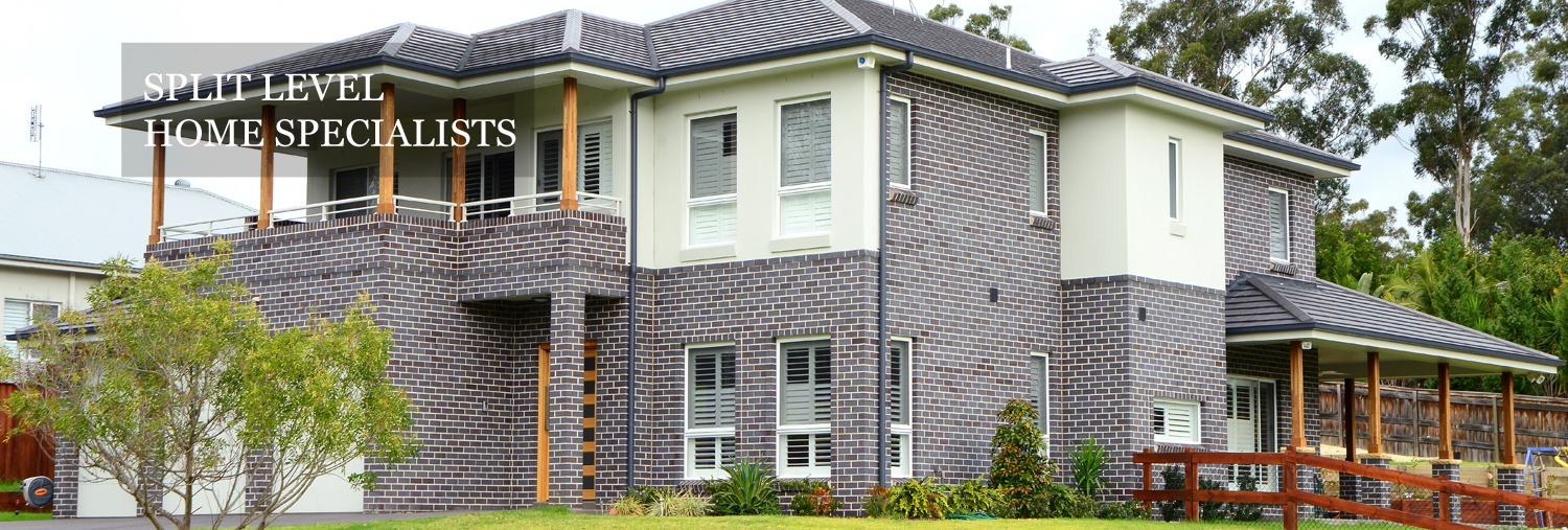 Split level home specialists two storey home