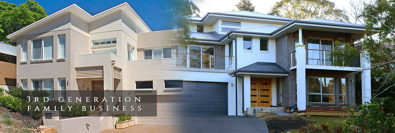 Split level homes building contractors splitlevel home for Split level home designs sydney