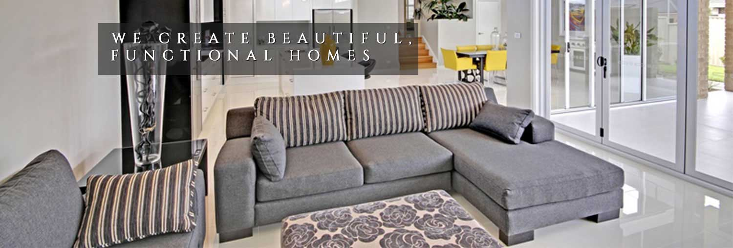 We Create Beautiful, Functional Homes