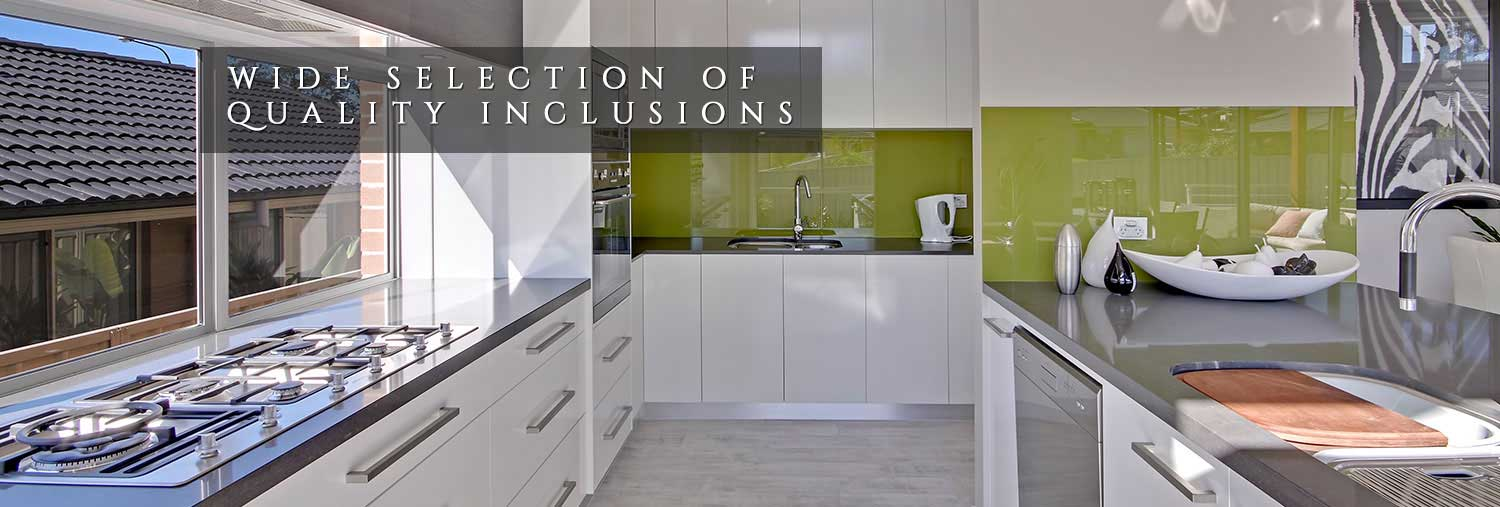 Wide Selection of Quality Inclusions
