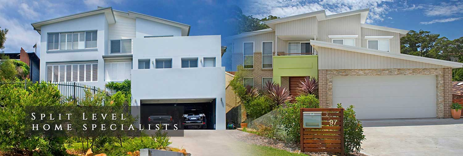 Split level homes series for Split level home designs sydney