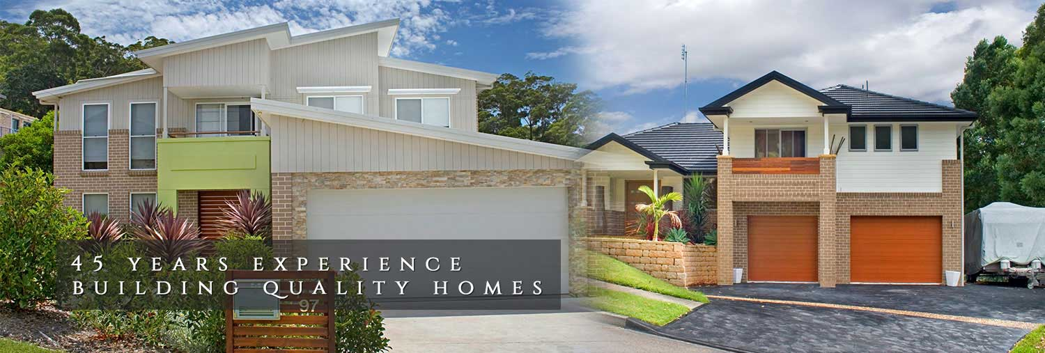 45 Years Experience Building Quality Homes