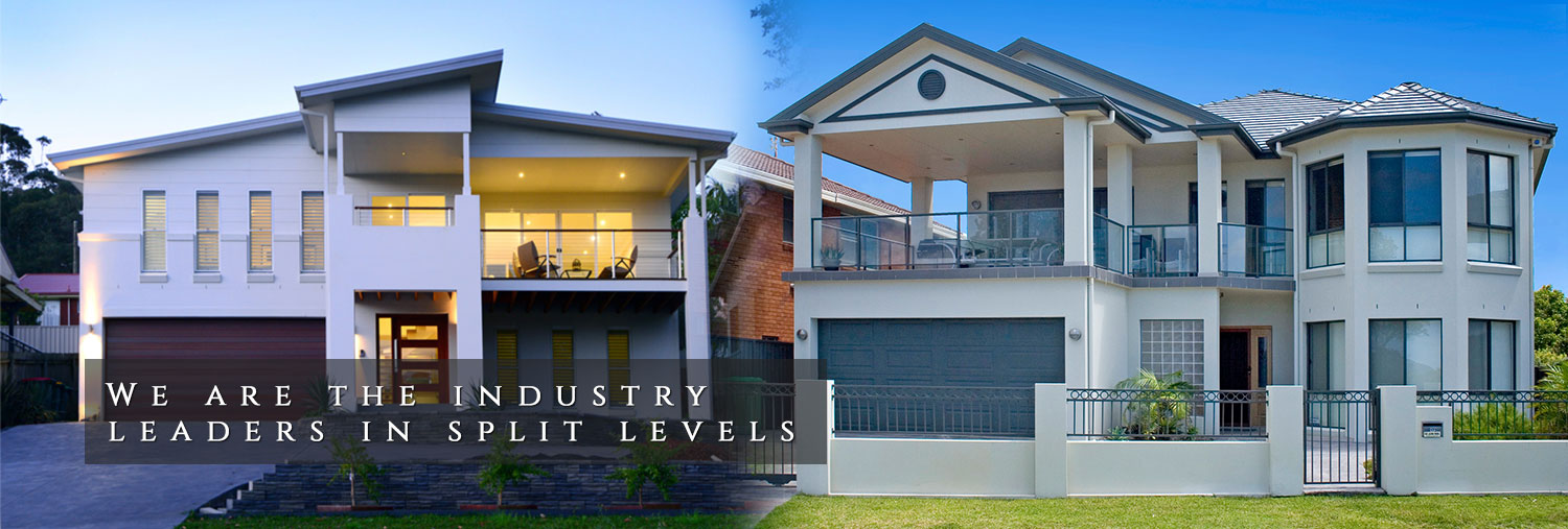 Custom homes tullipan homes custom home builder sydney for Split level home designs sydney