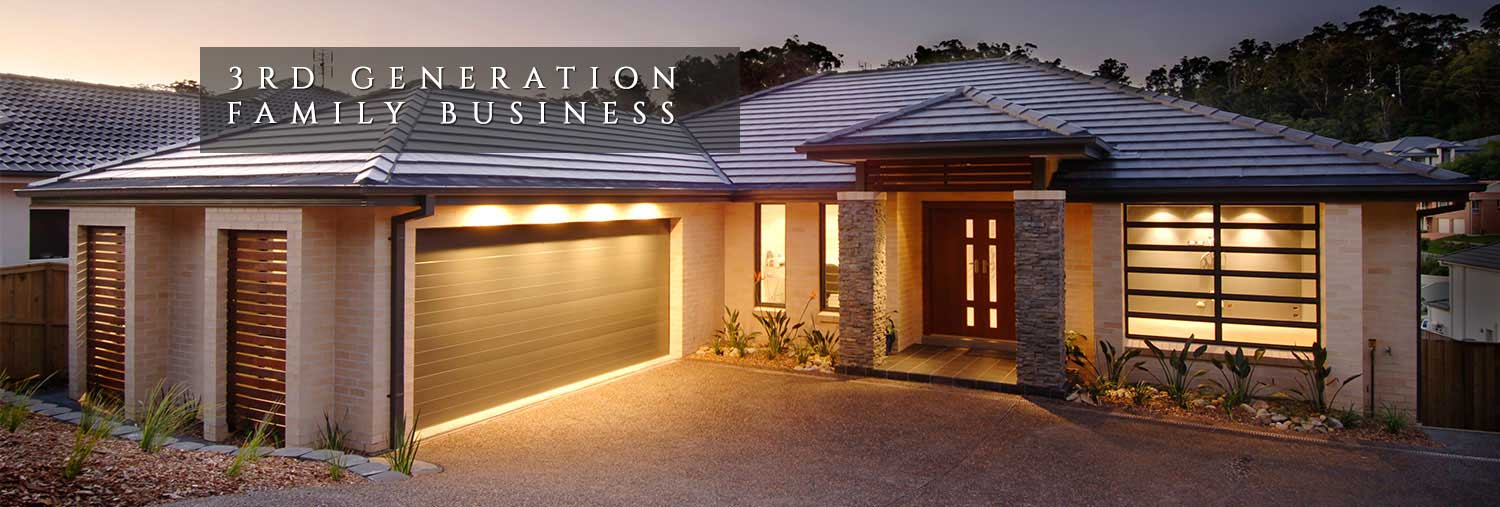 3rd generation family business, executive homes