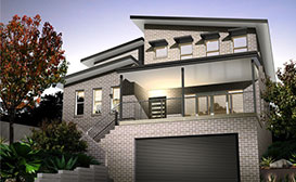 Double Storey - Living Areas Upstairs, Home Designs, Tullipan Homes